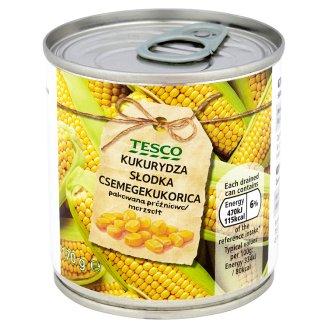 Tesco Kukurydza słodka 170 g