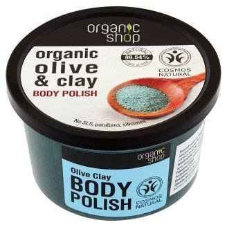 Organic Shop Pasta do ciała oliwna glinka 250 ml