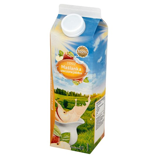 Tescio Baked Apples Buttermilk 1 L
