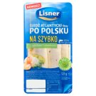 Lisner Śledź atlantycki filety po polsku na szybko z ogórkiem i czosnkiem 125 g