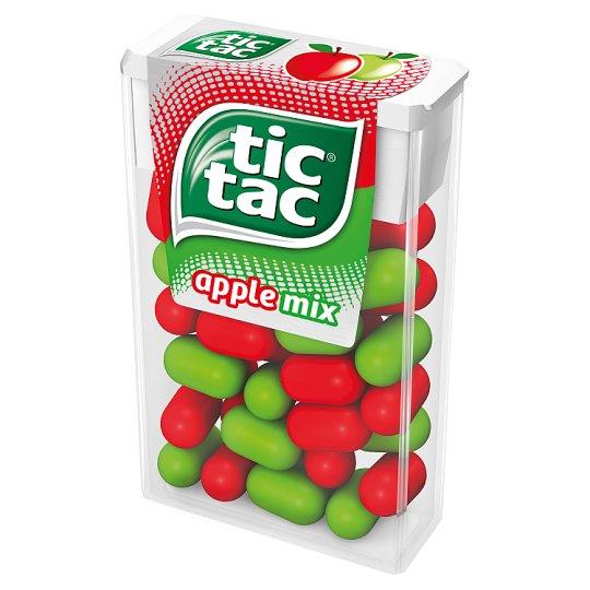 Tic Tac Apple Mix Sugar Coated Sweets 18 g