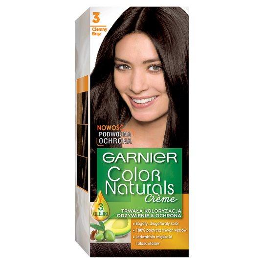 Garnier Color Naturals Creme 3 Dark Brown Hair Dye