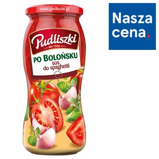Pudliszki Sos do spaghetti po bolońsku 500 g