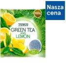 Tesco Herbata zielona ze skórką cytryny i trawą cytrynową 40 g (20 torebek)