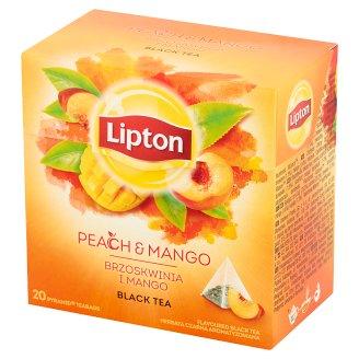 Lipton Peach and Mango Flavoured Black Tea 36 g (20 Tea Bags)