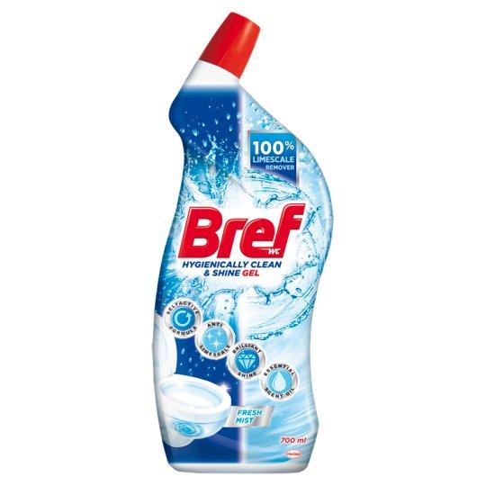 Bref WC Hygienically Clean & Shine Fresh Mist Gel 700 ml