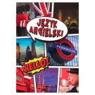 English A5 Squared 96 Pages Notebook