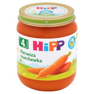 HiPP BIO First Carrot after 4 Months Onwards 125 g