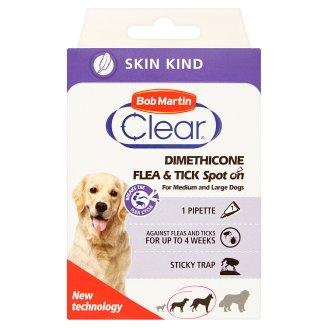 Bob Martin Clear Dimethicone Preparat dla średnich i dużych psów 15-30 kg od 3 miesiąca