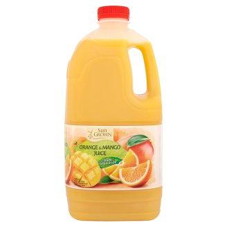 Sun Grown Sok pomarańczowy z zagęszczonego soku z przecierem z mango 2 l