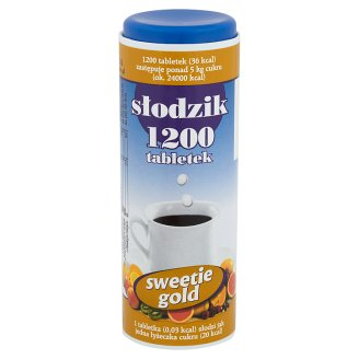 Sweetie Gold Sweetener 72 g (1200 Tablets)