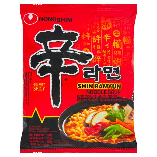 Nongshim Shin Ramyun Instant Noodle Soup 120 g