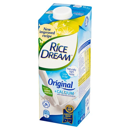 Rice Dream Dairy-Free Rice Drink 1 L