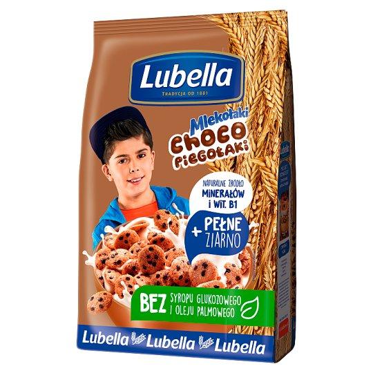 Lubella Mlekołaki Choco Piegołaki Chocolate Flavour Cereal Crunchy Cookies 500 g