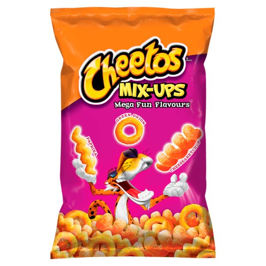 Cheetos Mix-Ups Mega Fun Flavours Corn Snacks Mix 70 g