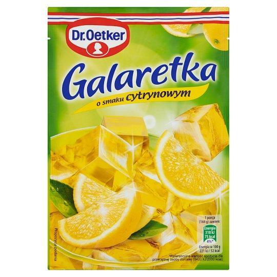 Dr. Oetker Lemon Flavoured Jelly 77 g