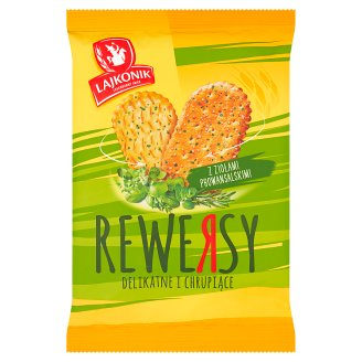 Lajkonik Rewersy Drobne pieczywo z ziołami prowansalskimi 95 g