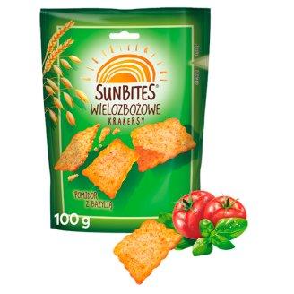 Sunbites Tomato with Basil Multigrain Crispy Snacks 100 g