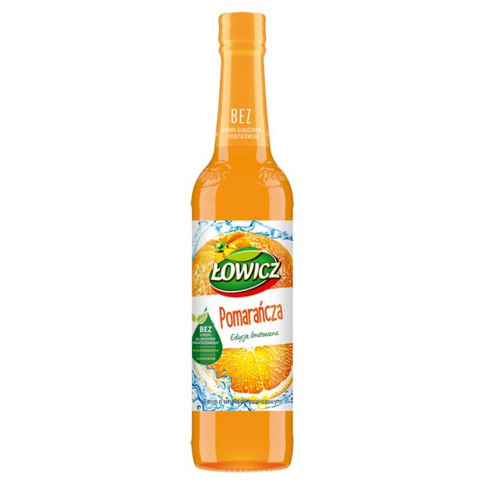 Łowicz Syrup with Orange Flavour 400 ml