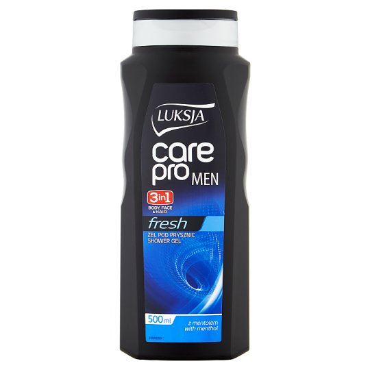Luksja Care Pro Man Fresh 3in1 Shower Gel 500 ml