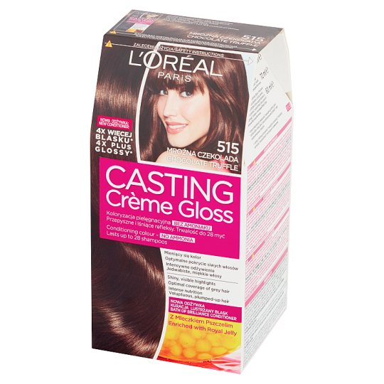 L'Oreal Paris Casting Creme Gloss Farba do włosów 515 mroźna czekolada