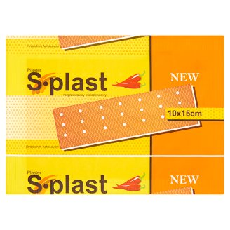 S-plast Capsicum Warming Patch 10 x 15 cm