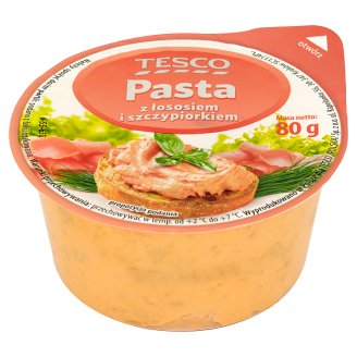 Tesco Paste with Salmon and Chives 80 g