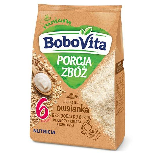 BoboVita Porcja zbóż Kaszka delikatna owsianka po 6 miesiącu 170 g