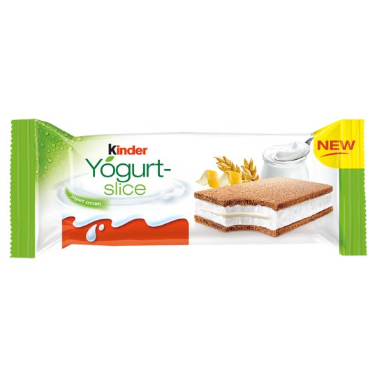 Kinder Yogurt-slice Biszkopt z jogurtowym nadzieniem 28 g