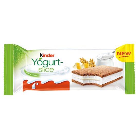 Kinder Yogurt-slice Sponge Cake with Yoghurt Filling 28 g