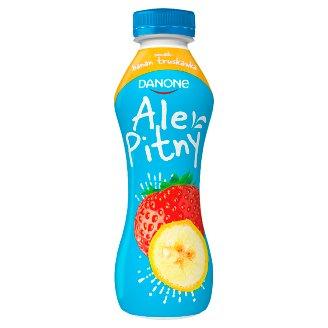 Danone ale Pitny Strawberry Banana Yoghurt Drink 290 g