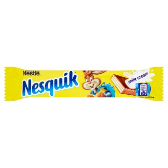 Nesquik Wafer Bar with Milk Cream in Milk Chocolate 26 g