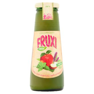 Fruxi Fresh Apple and Peppermint 100% Natural Juice Pressed from Fresh Fruits 250 ml