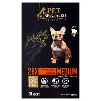 Tesco Pet Specialist Premium Karma dla dorosłych psów przysmak dentystyczny średni 720 g (28 sztuk)