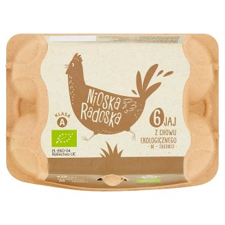 Mizgier Fresh Eggs from Organic Hens M 6 Pieces
