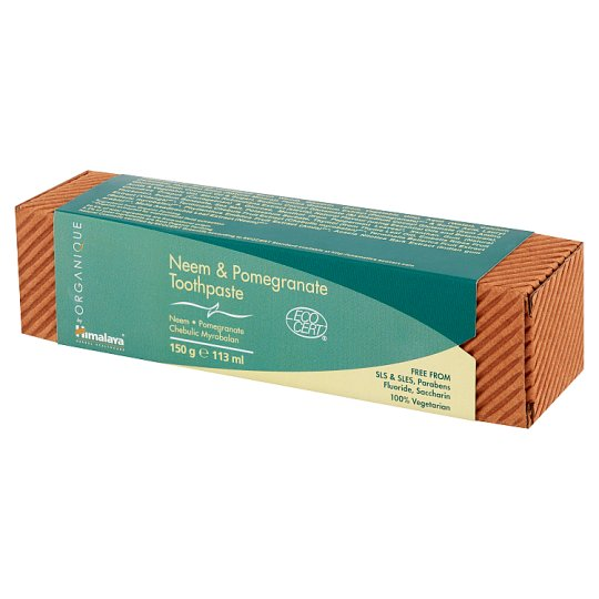 Himalaya by Organique Neem & Pomegranate Toothpaste 150 g