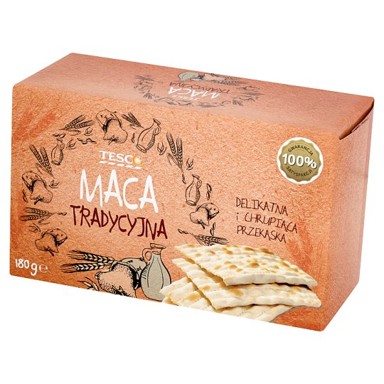 Tesco Traditional Matzo 180 g