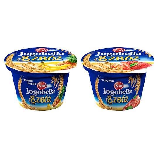 Zott Jogobella 8 zbóż Pineapple and Banana Yoghurt 200 g