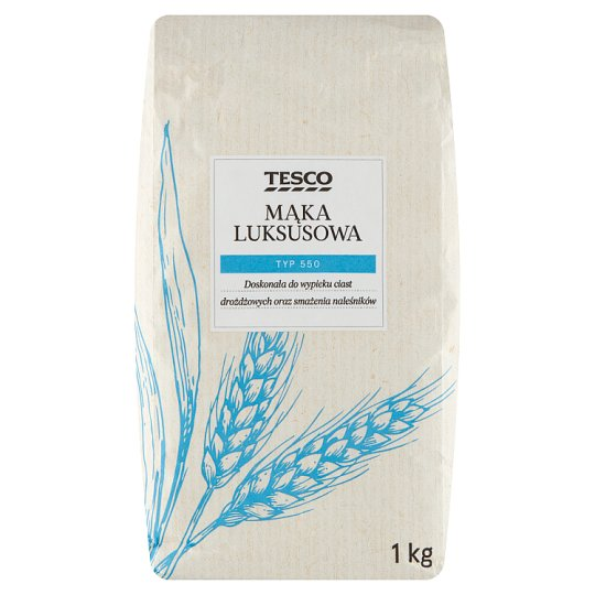 Tesco 550 Type Luksusowa Wheat Flour 1 kg