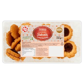 Tesco Daisies Cookies with Marmalade 350 g