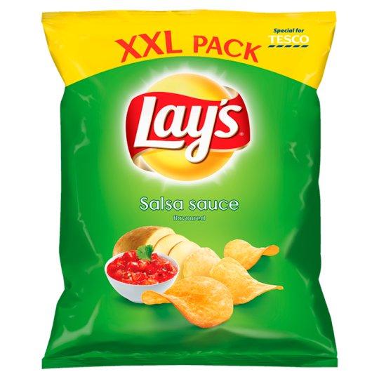 Lay's Salsa Sauce Flavoured Potato Crisps 240 g