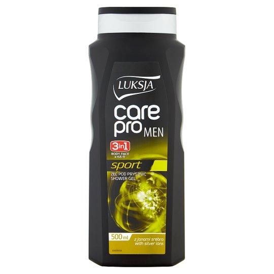Luksja Care Pro Men Sport Żel pod prysznic 3w1 500 ml