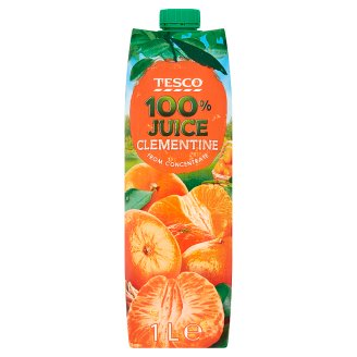 Tesco Clementaine from Concentrate 100% Juice 1 L