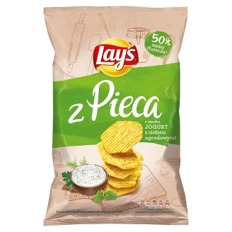 Lay's z Pieca Yoghurt with Garden Herbs Baked Potato Crisps 130 g
