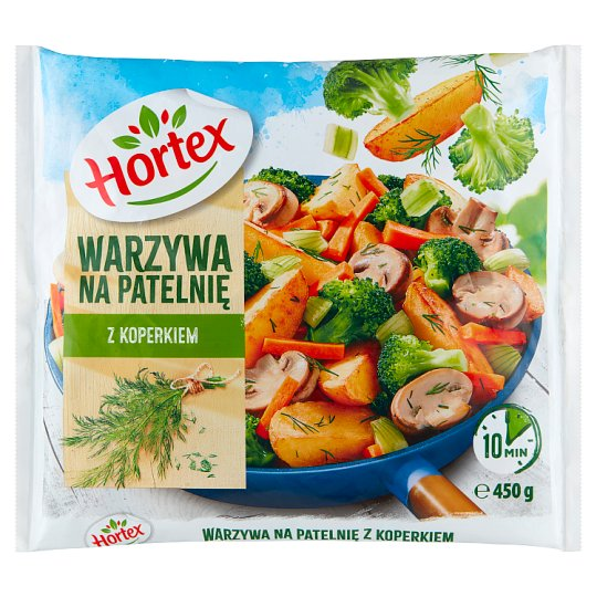 Hortex Stri-fry Vegetables with Dill 450 g