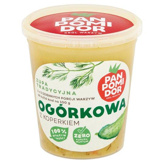 Pan Pomidor Zupa tradycyjna ogórkowa z koperkiem 400 g