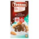 Torras Milk Chocolate with Almonds Sugars Free 75 g