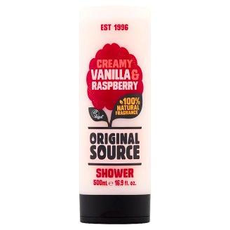 Original Source Vanilla & Raspberry Żel pod prysznic 500 ml