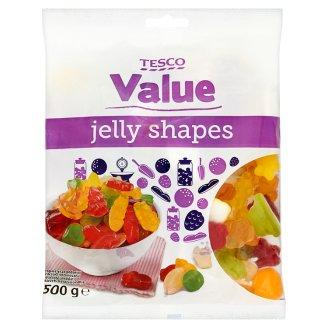 Tesco Value Żelki owocowe 500 g