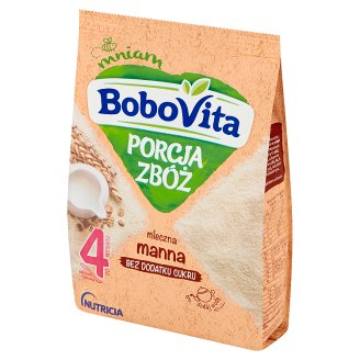 BoboVita Porcja Zbóż Semolina Milk Porridge after 4 Months Onwards 210 g